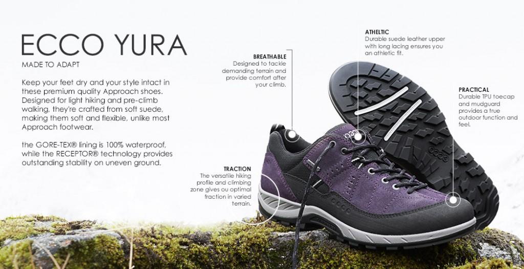 ecco men's yura gtx fashion sneaker