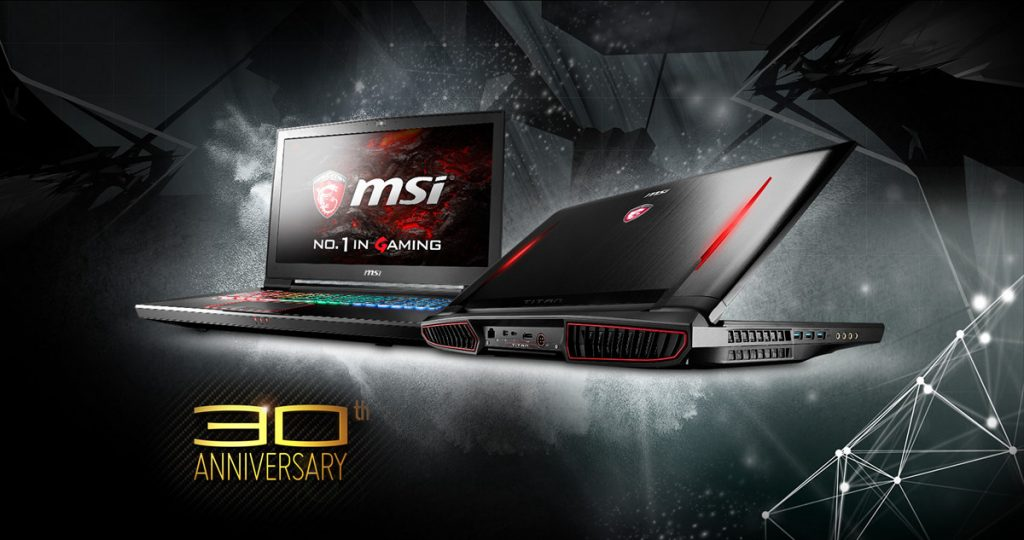 MSI GT73VR Titan Pro 201 Extreme Gaming Laptop