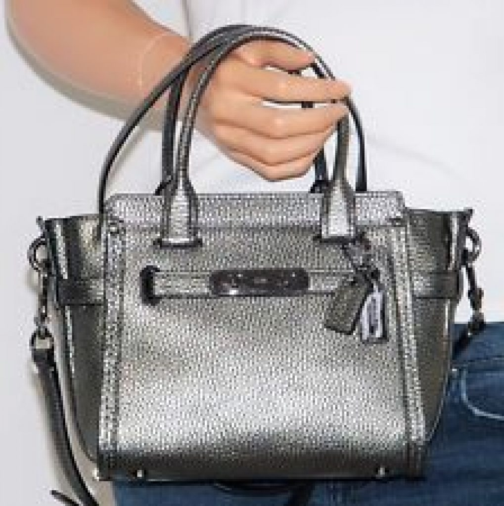 d07a3982d8ce ... best price deals coupons detail info. amazon offers the coach swagger  21 womens pebbled leather